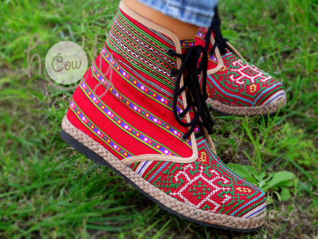 New Positive Tribal Vegan Ankle Boots