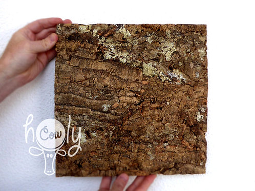 Eco Friendly Natural Large Cork Bark Tiles