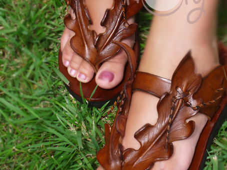 Get Ready To Bare Your Toes With Our Leaf Sandals This Summer!