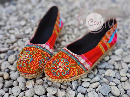 Unique Tribal Vegan Shoes
