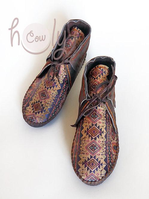 Eco Friendly Tribal Vegan Cork Boots