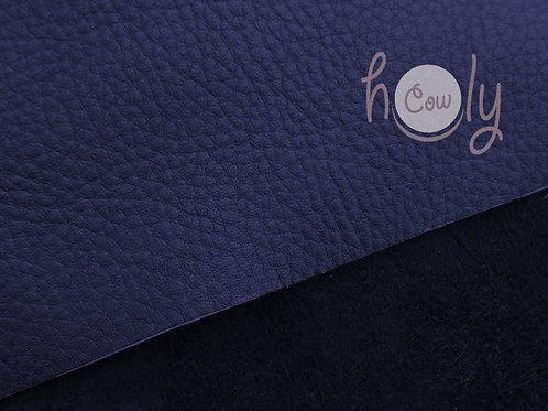 "Genuine Blue Cow Leather 12""x12"""