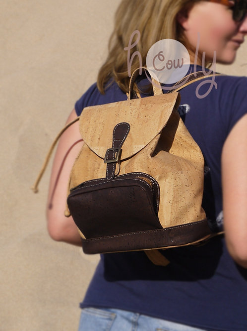 Eco Friendly Vegan Cork Backpack