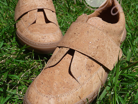 Vegan Sneakers From The Bark Of A Cork Tree