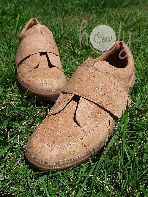 Eco Friendly Vegan Velcro Cork Sneakers