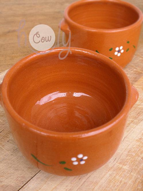 Handmade Terracotta Soup Bowl