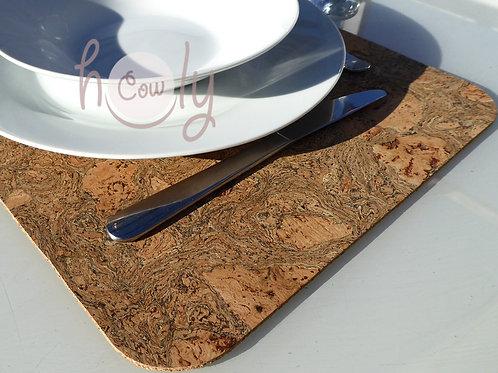 Eco Friendly Large Cork Placemat
