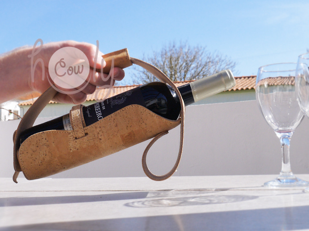 Eco Friendly And 100% Natural Cork Wine Holder