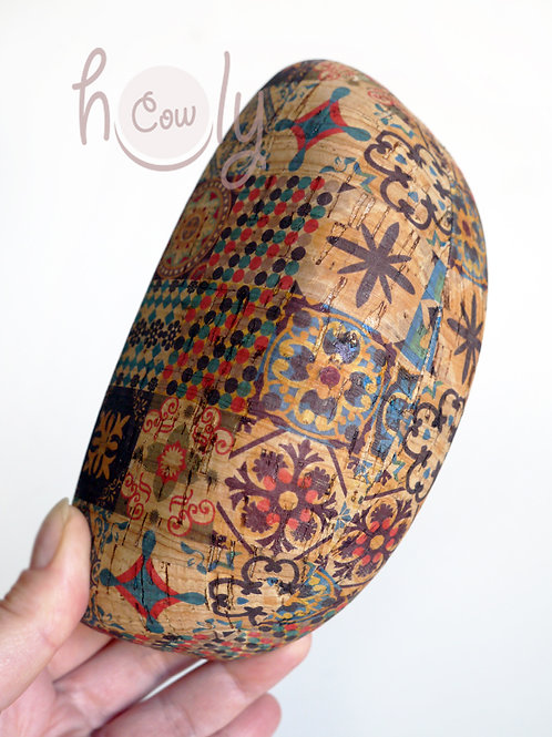Hard Eco Friendly Cork Sunglasses Case