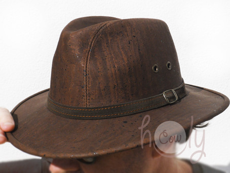 New Cork Cowboy Hat! Vegan Cork Products Made In Portugal!