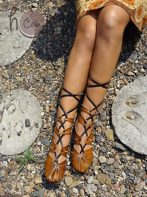 """Super Sexy"" Leather Sandals"
