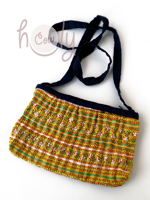 Tribal Vintage Hmong Shoulder Bag