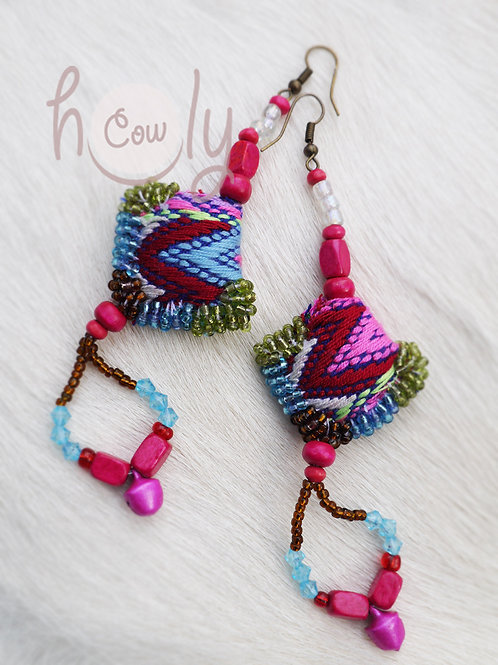 Tribal Boho Chic Hippie Earrings