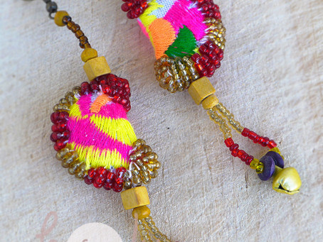 Handmade And Authentic Tribal Earrings