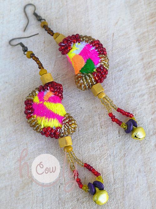 Unique Tribal Boho Chic Earrings