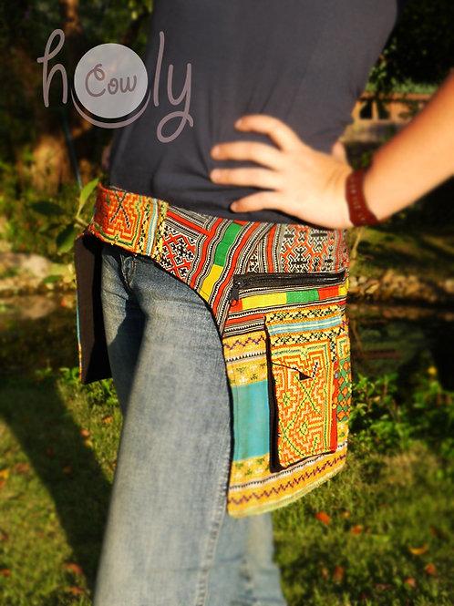 Vintage Hmong Hilltribe Belt Bag