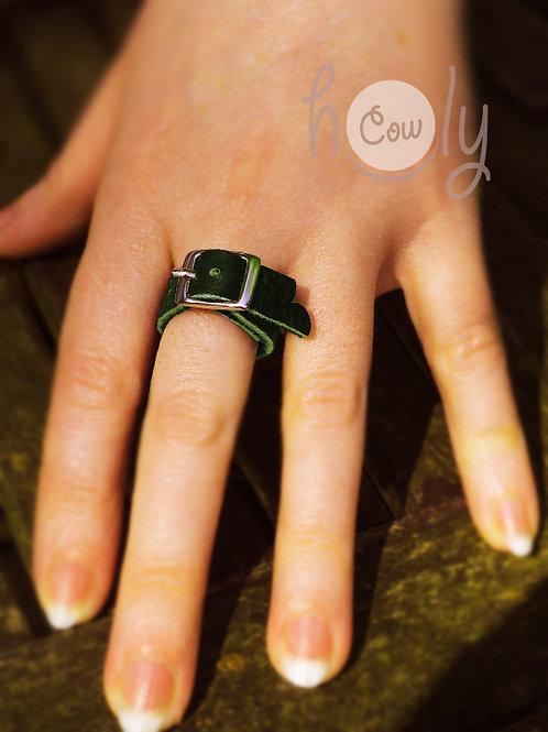 Handmade Adjustable Leather Ring