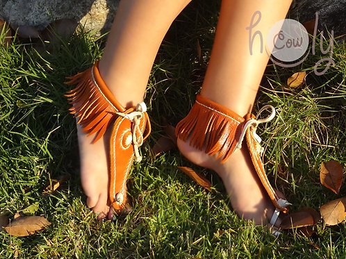 Beautiful Barefoot Leather Sandals