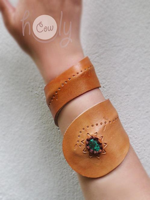Boho Leather Wrist & Arm Bracelet