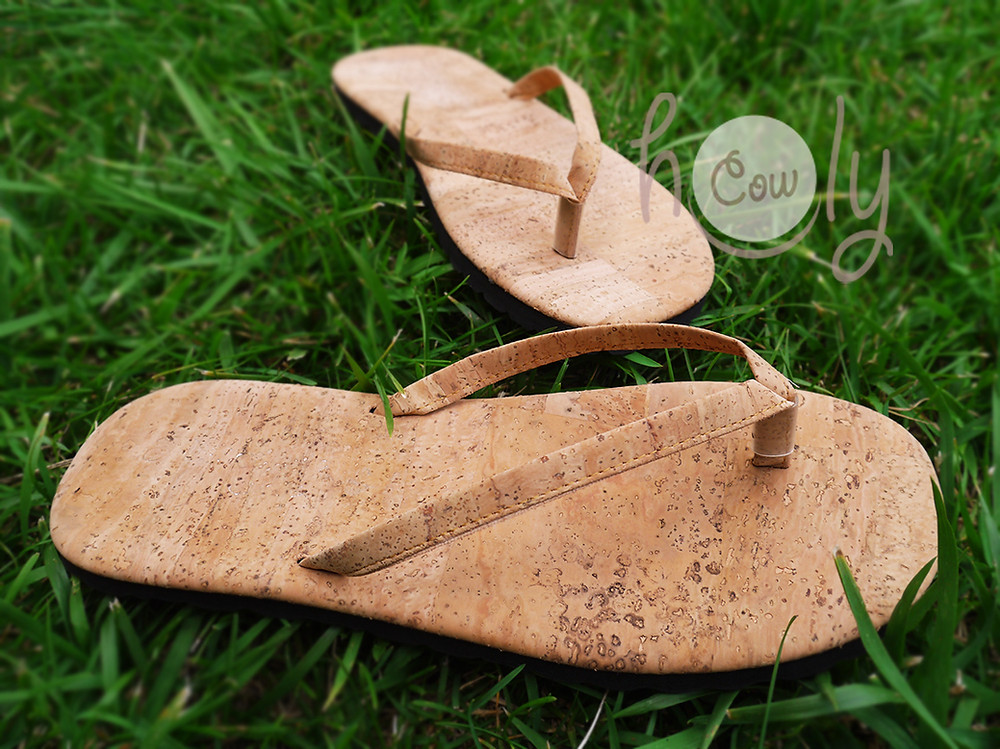 Eco Friendly New Cork Flip Flops