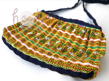 Tribal Vintage Hmong Shoulder Bag