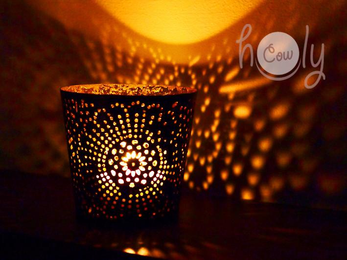 Beautiful Handmade Metal Tea Light Candle Holder