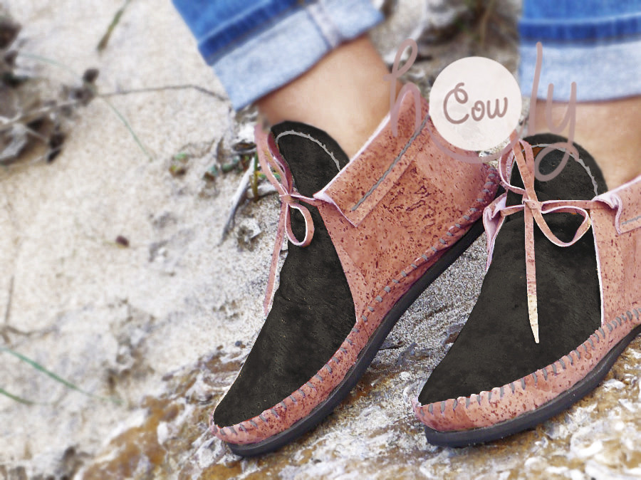 Eco Friendly Vegan Moccasins Made From Cork