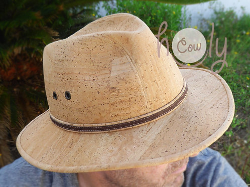 Natural Eco Friendly Cork Hat