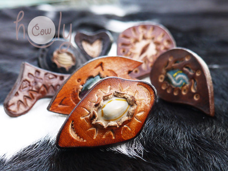 A New Year Starts With A New Boho Leather Ring Collection!