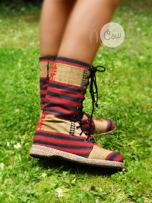 Women's Tribal Vegan Boots
