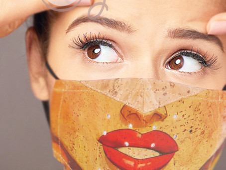 Say Hello To Our New Amazing Eco Friendly Cork Face Masks