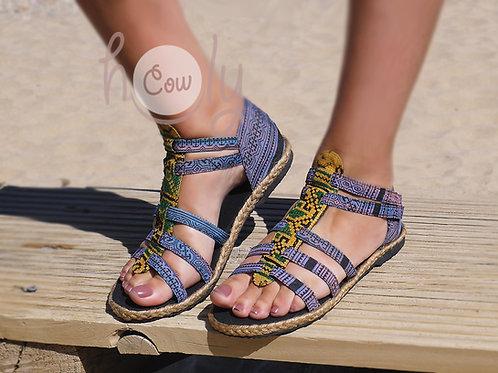 Boho Tribal Vegan Sandals