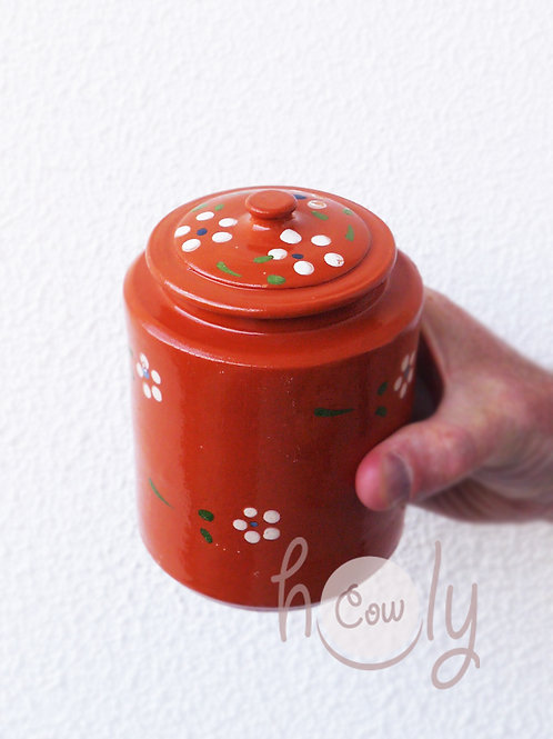 Handmade Terracotta Storage Container