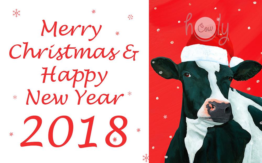Merry Christmas & Happy New Year 2018!