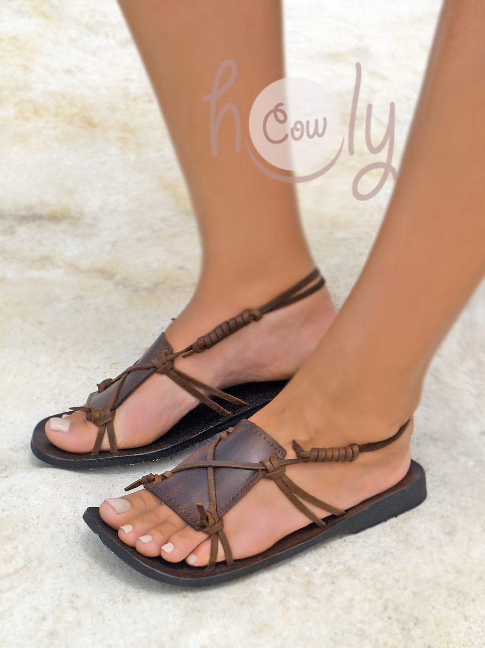 Handmade Boho Leather Sandals
