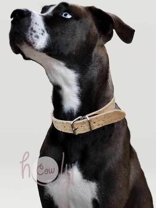 Adjustable Dog Collar Made From Cork