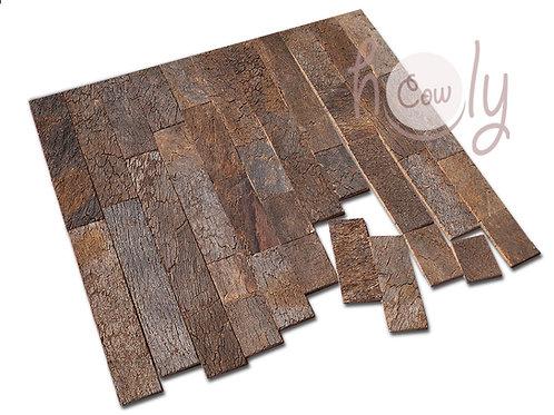 Cork Bark Tiles Of Various Lengths