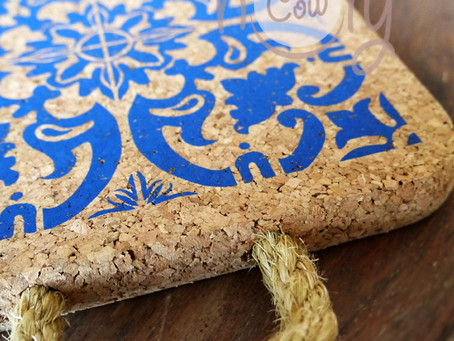 Handmade Natural Eco Friendly Large Cork Hot Pot Holder