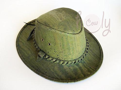 Green Eco Friendly Cork Hat