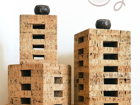 Unique Handmade Eco Friendly Cork Stools
