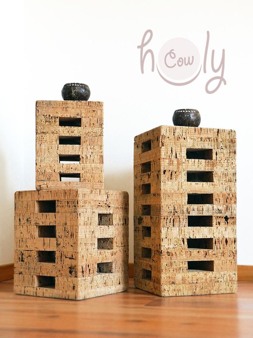 Unique Handmade Eco Friendly Cork Stools