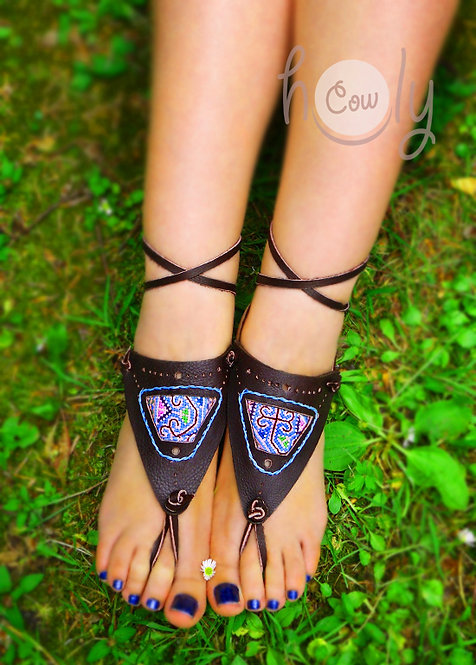 Handmade Barefoot Tribal Sandals