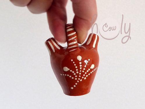 Handmade Terracotta Miniature Vase