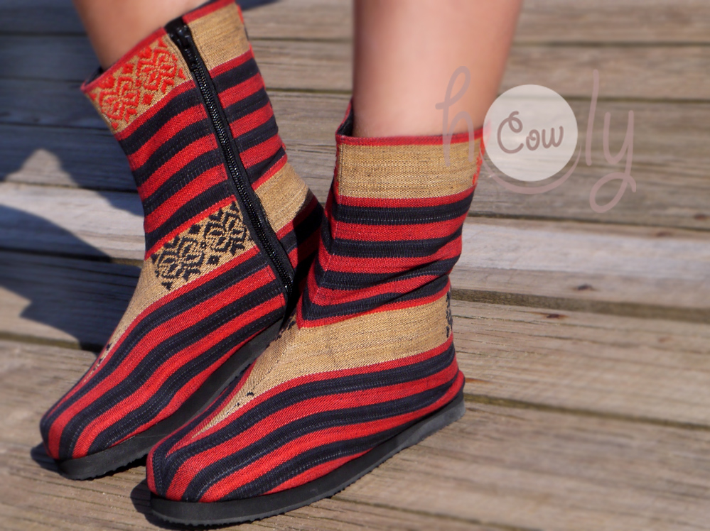 Tribal Colorful Boots