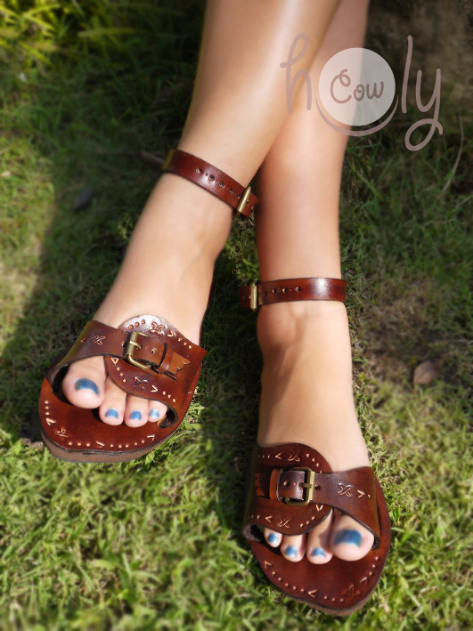 Crazy Inca Leather Sandals