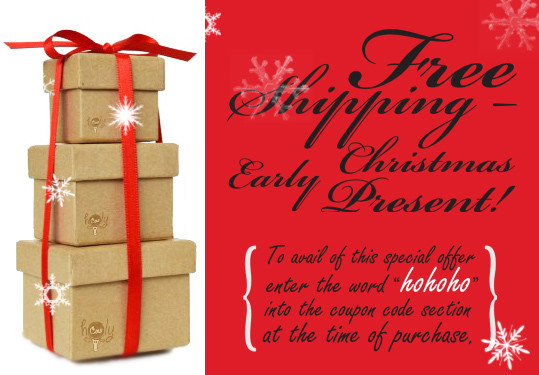 FREE SHIPPING – EARLY CHRISTMAS PRESENT