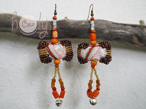 Tribal Boho Chic Hippie Earrings