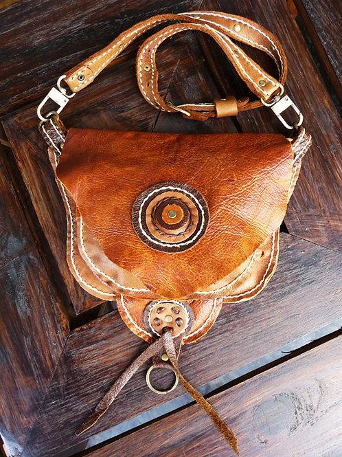 Leather Hip and Shoulder Bag