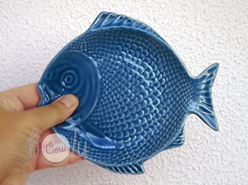 Handmade Small Ceramic Fish Dish