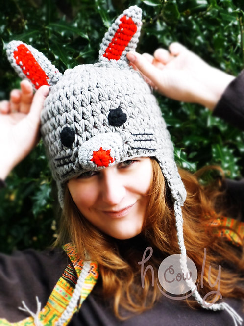 Hand Knitted Adult Woolen Hat